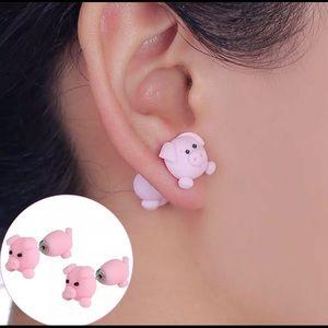 Jewelry - Adorable little piggy earrings